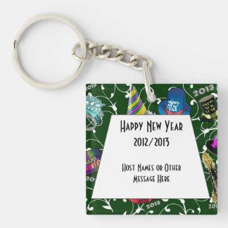 Favores de encargo 2013 del llavero del Año Nuevo