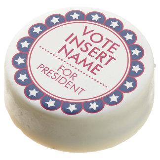 Favores de fiesta blancos de la elección del voto