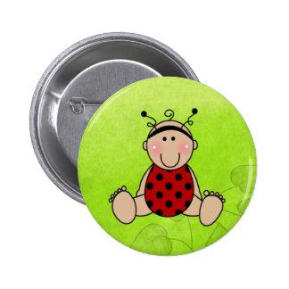 Favores de fiesta de fiesta de bienvenida al bebé  pin redondo de 2 pulgadas