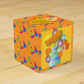 Favores de la caja de la fiesta de cumpleaños del caja para regalos de fiestas