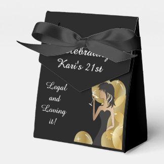 Favores de la caja de la fiesta de cumpleaños del paquete de regalo para bodas