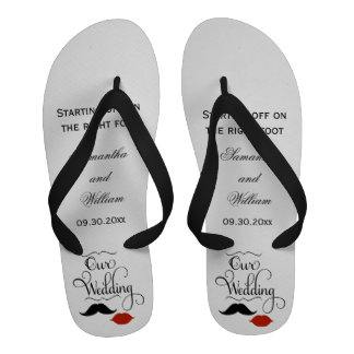 Favores masculinos de la sandalia del flip-flop de
