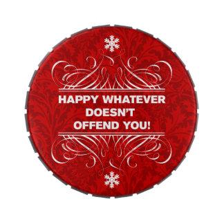 Favores neutrales de la celebración de días festiv jarrones de dulces