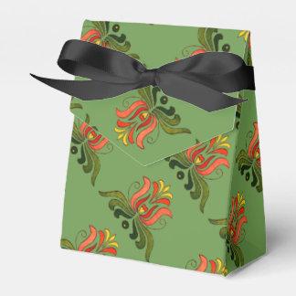 Favores populares húngaros de la flor caja para regalos