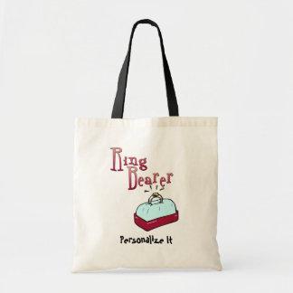 Favores y camisetas de Ringbearer Bolsa Tela Barata