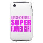 Favores y gracias rosados del boda: Florista estup iPhone 3 Tough Cobertura