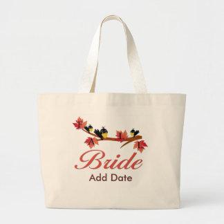 Favores y ropa de la novia de la caída bolsas