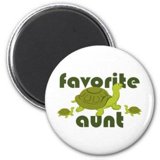 Favorite Aunt 2 Inch Round Magnet