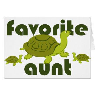 Favorite Aunt Card