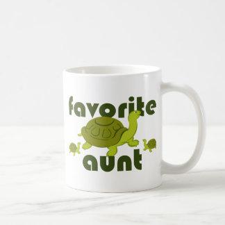 Favorite Aunt Classic White Coffee Mug