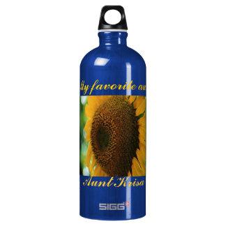 favorite aunt sunflower SIGG traveler 1.0L water bottle
