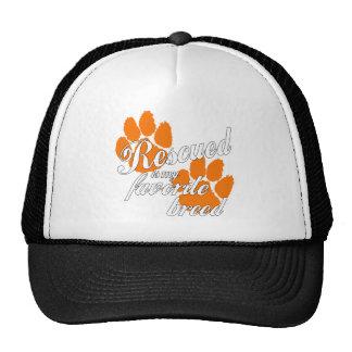 favorite breed trucker hat