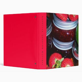 Favorite Canning Recipes 3 Ring Binder