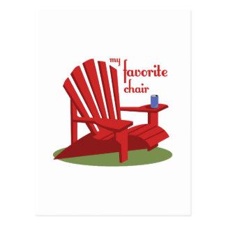 Favorite Chair Postcard
