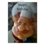 FAVORITE CHEF BIRTHDAY WISHES GREETING CARD