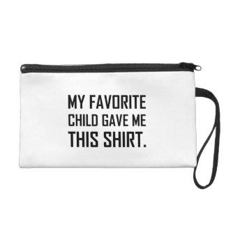 Favorite Child Gave Me This Shirt Wristlet