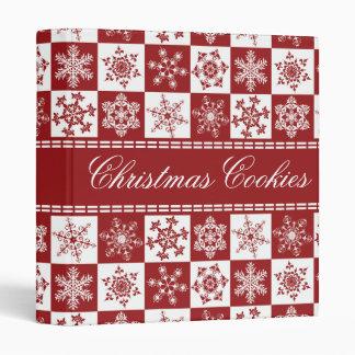 Favorite Christmas Cookies Recipe Book Binder
