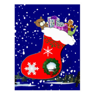 Favorite Christmas Gifts Postcard