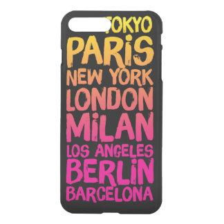 Favorite Cities Neon iPhone 7 Plus Case