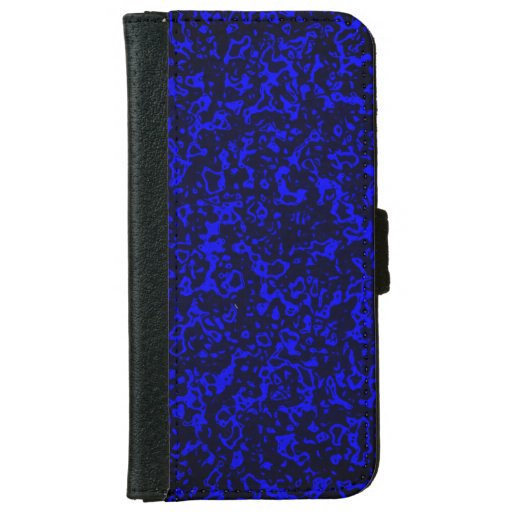 Favorite color, blue iPhone 6/6s wallet case