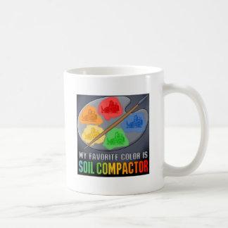 Favorite Color Is Soil Compactor Coffee Mug