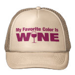 Favorite Color Is Wine Hat
