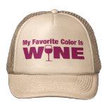 Favorite Color Is Wine Trucker Hat