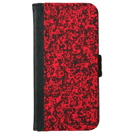 favorite color, red iPhone 6/6s wallet case