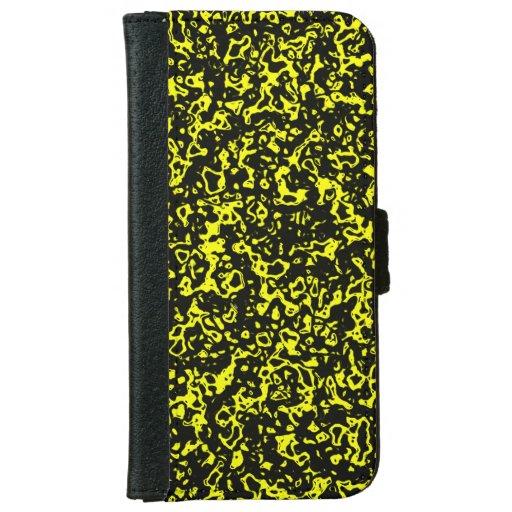 Favorite color, yellow iPhone 6/6s wallet case