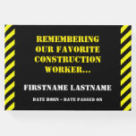 [ Thumbnail: Favorite Construction Worker Funeral Guestbook ]