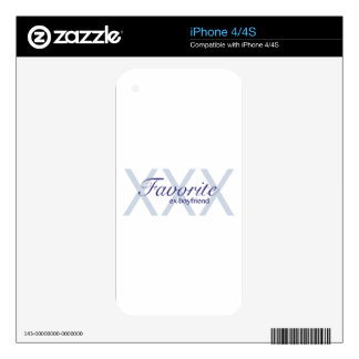 Favorite Ex-Boyfriend Decal For The iPhone 4S
