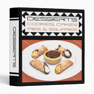 Favorite Family Dessert Recipe Binder