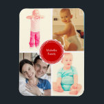 """Favorite Family Photos Magnet<br><div class=""""desc"""">Use your favorite photos to spice this flexible magnet,  great as decors,  giveaways or party favors.</div>"""
