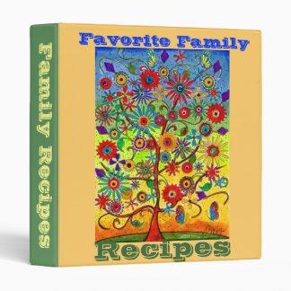 Favorite Family Recipes-binder Binder