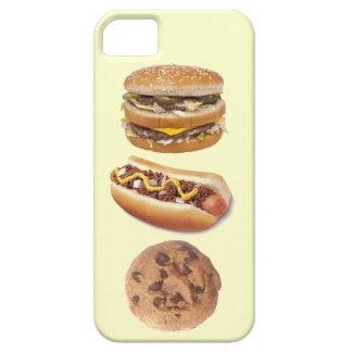 Favorite Food Groups Hamburger Hot Dog Cookie iPhone 5 Case