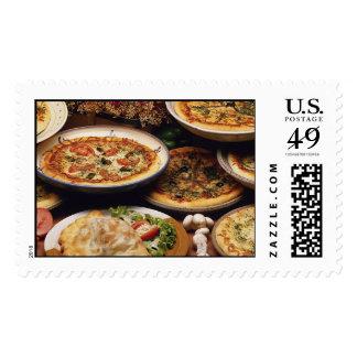 Favorite Foods  Postage Stamps