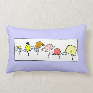 Favorite Foods Vintage Art Pillow