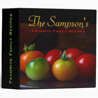 Favorite Friends & Family Recipe Binder Keeper