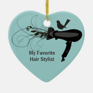 Beauty Salon Ornaments & Keepsake Ornaments | Zazzle