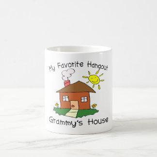 Favorite Hangout Grammy's House Classic White Coffee Mug