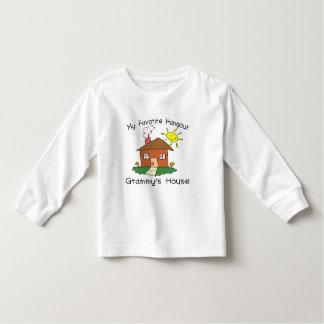 Favorite Hangout Grammy's House Tee Shirt