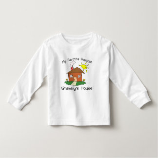 Favorite Hangout Grammy's House Toddler T-shirt
