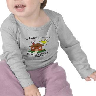 Favorite Hangout Great Grandma's House Tshirts