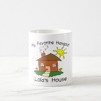 Favorite Hangout Lola's House Classic White Coffee Mug