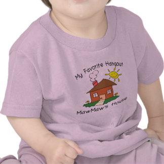 Favorite Hangout MawMaw's House T Shirts