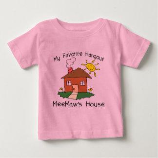 Favorite Hangout MeeMaw's House Infant T-shirt