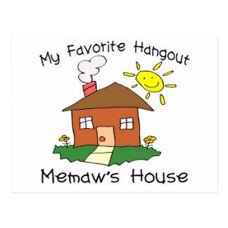 Favorite Hangout Memaw's House Postcard