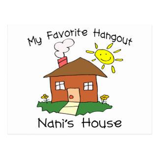 Favorite Hangout Nani's House Postcard