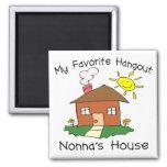 Favorite Hangout Nonna's House Fridge Magnets