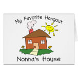 Favorite Hangout Nonna's House Greeting Card